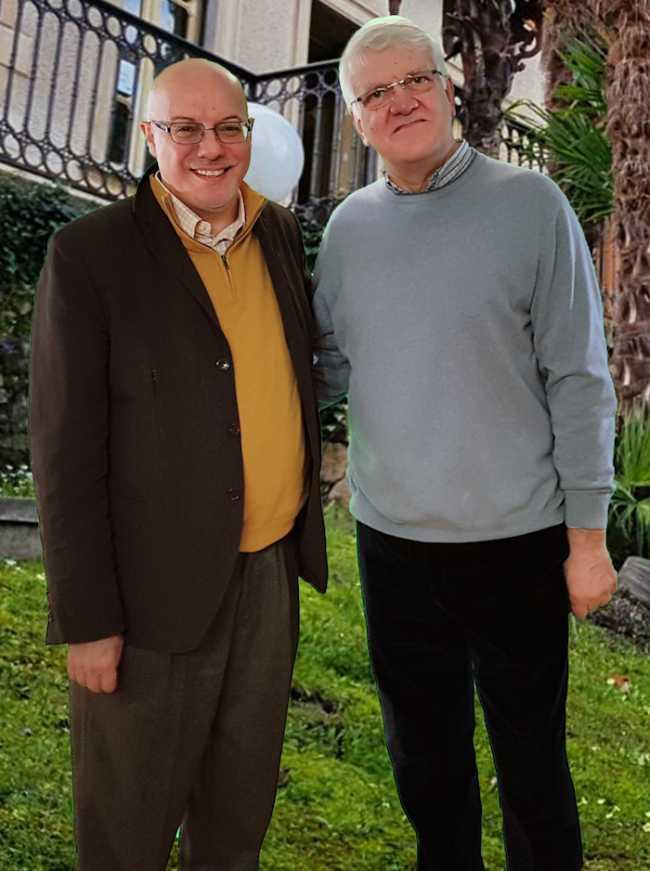 Gianni Dal Bello e Mauro Trombetta