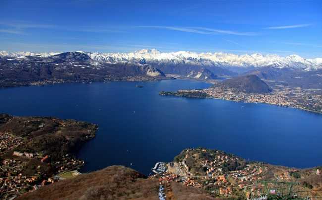 LagoMaggiore panorama