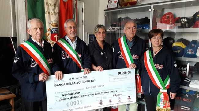 Lesa foto Grignoli e sindaci 1