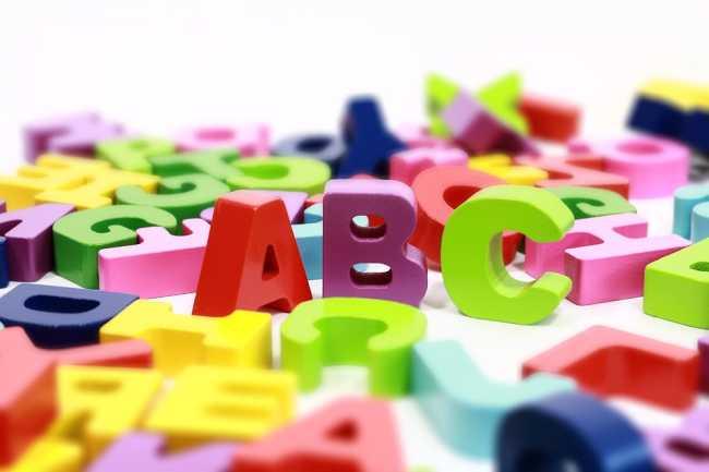 alfabeto foto