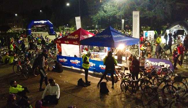arrivo bike night arona