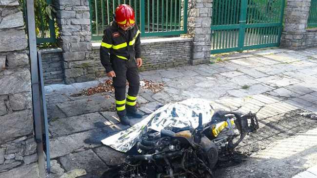 mortale moto lesa vigile fuoco ago 17