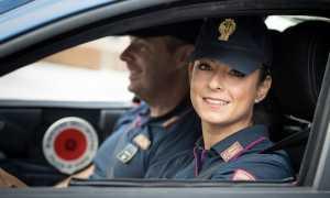 polizia donna