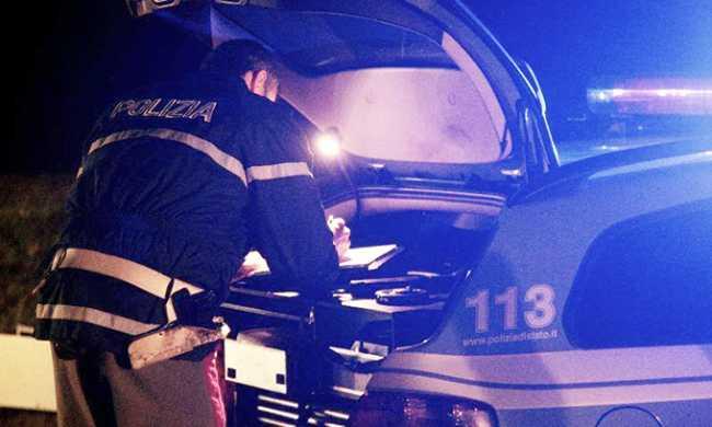 polizia notte verbale