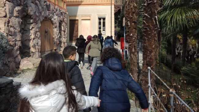 visita bambini Museo Meina