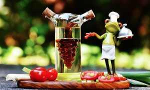 verdura divertente rana